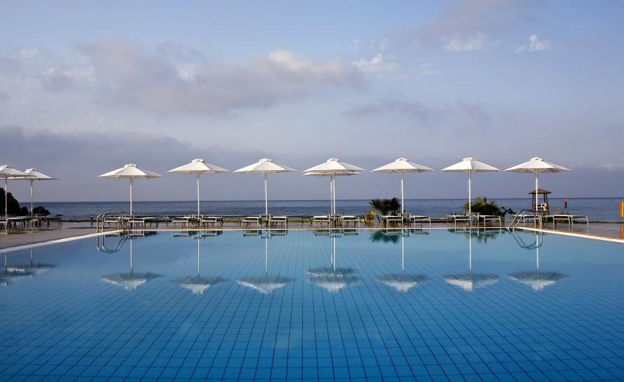 Hotel Mikri Poli Kreta basen