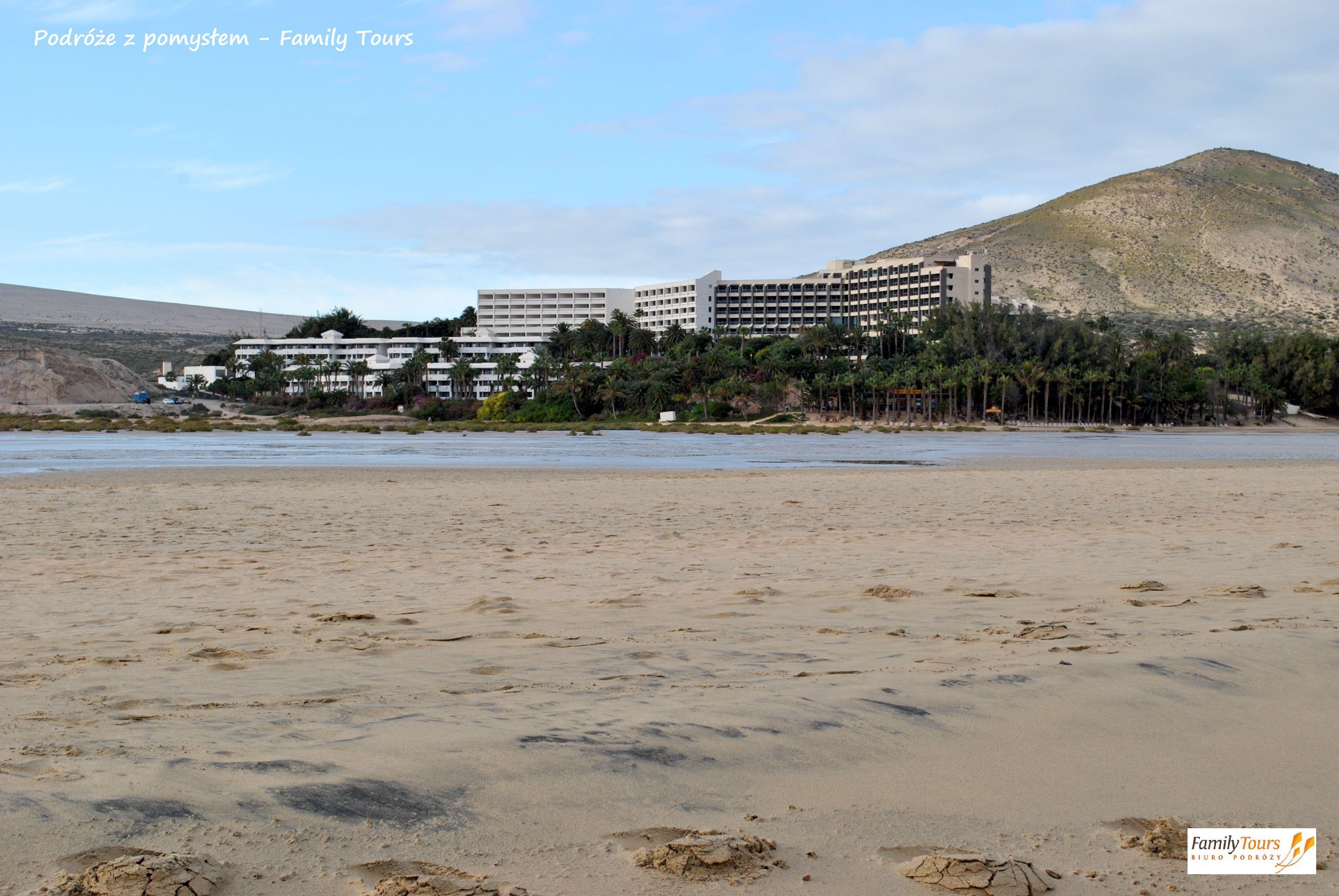 fuerteventura plaża Sotavento przy Melia Gorriones
