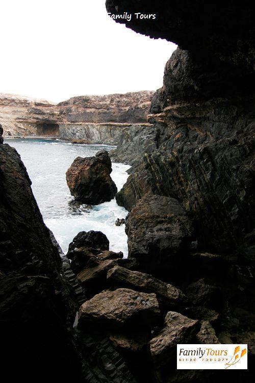 Fuerteventura klifowe wybrzeże