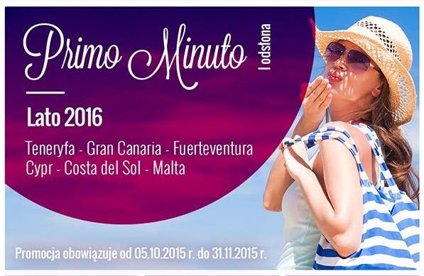 EXIM TOURS Primo Minuto LATO 2016