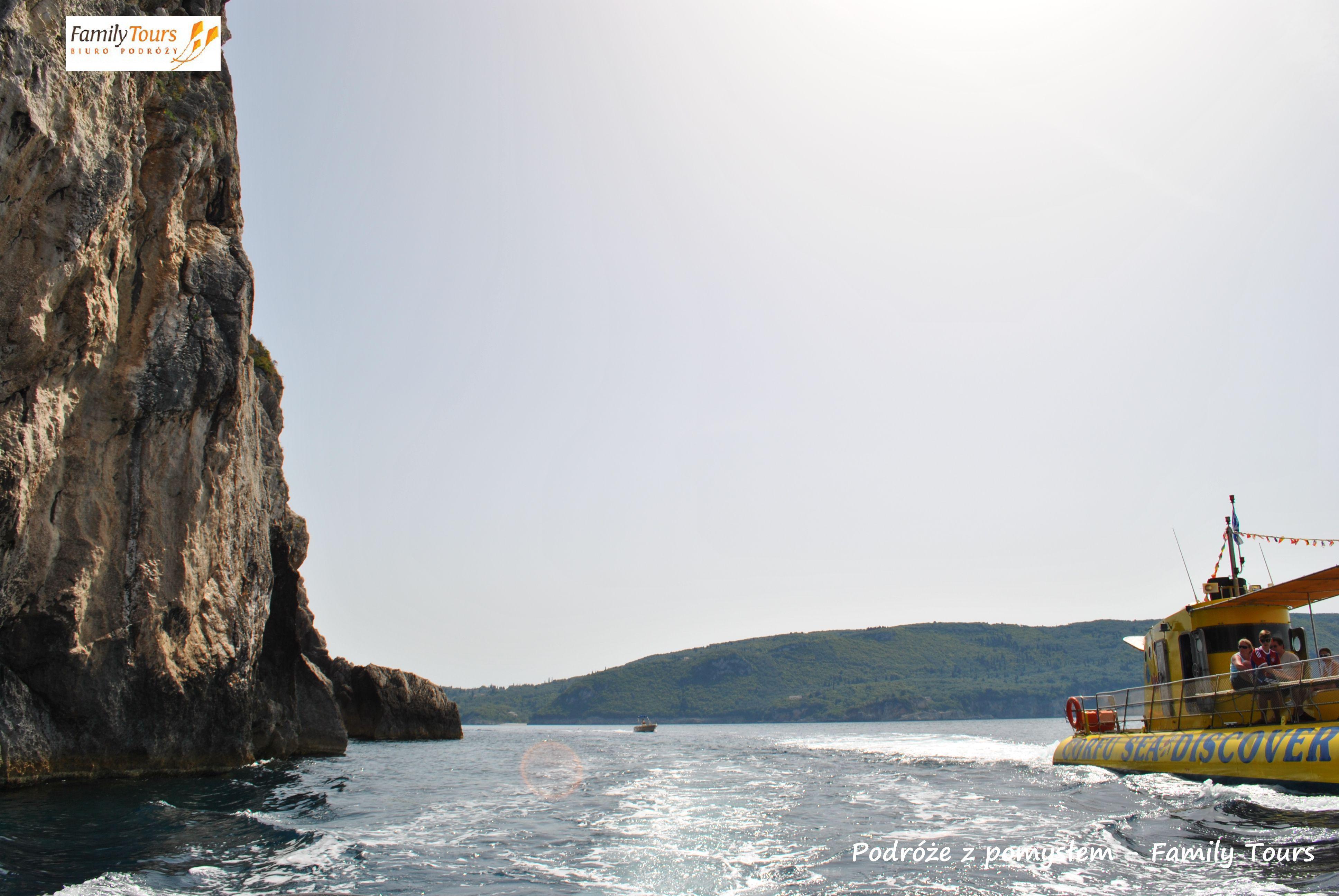Korfu co zwiedzić Paleokastritsa