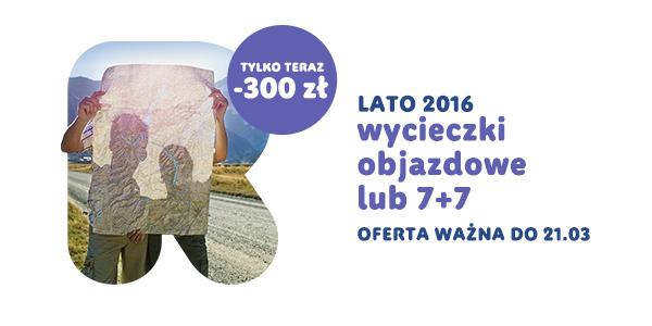 RAINBOW TOURS – wycieczki objazdowe taniej o 300 zł