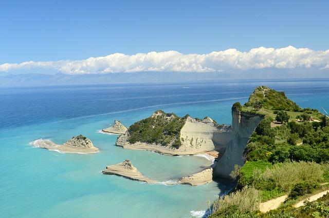 Co zwiedzić na Korfu – cz.4 – Klifowa północ: Sidari, Peroulades, Cape Drastis