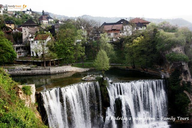 Jajce – trasa do Chorwacji przez Bośnię