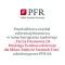 PFR informacja